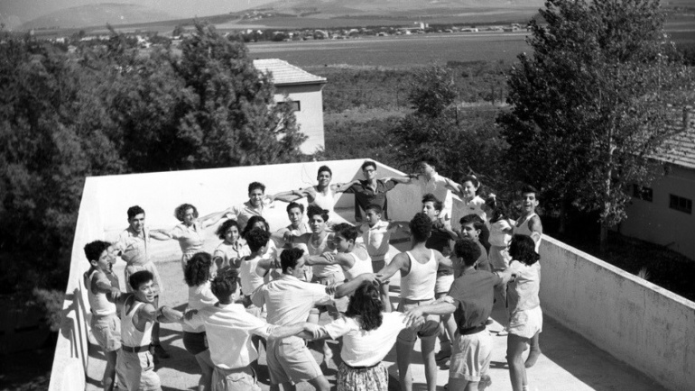 WIZO Nir Ha'emek school in 1947