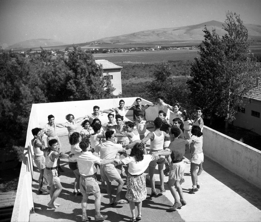 WIZO Nir Ha'emek school in 1947